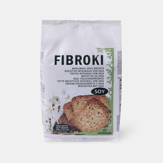 Fibroki Vollkorn-Soja-Zwieback