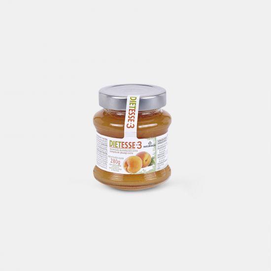Fructose-Pfirsich-Konfitüre